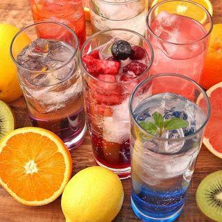 ◆飲み放題内容が充実◆130種類以上からお選びいただけます!