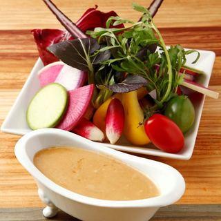◎毎日直送・朝採れ野菜◎厳選素材で作る良いトコ取り料理♪