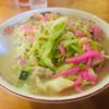 協和飯店 - 料理写真:ちゃんぽん 野菜大盛り(700+100=800円)