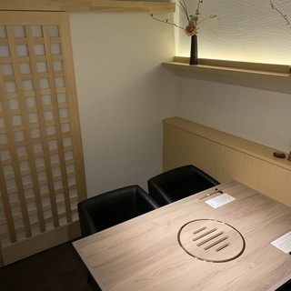 和モダンテイストの完全個室