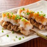 焼き皮ポン酢(1串)