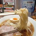 らあめん花月嵐 - 中華麺店 喜楽(780円)(麺リフトは苦手です)