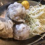 焼ジビエ 罠 神田 - イノシシ肉のシウマイ