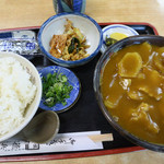 徳兵衛 - 料理写真:カレー南ばん定食