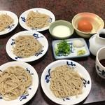 そば福 - 皿そば750円