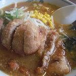 テンホウ - 肉揚げ味噌ラーメン