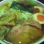 麺屋 直 - わんたんめん+味玉