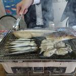 節子鮮魚店 - これで七人前。飲み物一品付きで一人千円です。