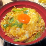 三軒茶屋 鳥心 - 八ヶ岳玉子の親子丼¥1100