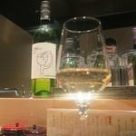 三軒茶屋 鳥心 - まるき葡萄酒 甲州
