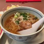中国料理 青山 - ラーメン
