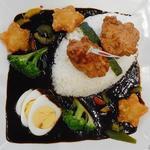 JAXA食堂 - 料理写真:ロケットカレー600円