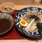 105052925 - 濃厚魚介だし+ネギトロ丼