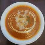 マハラジャスパイス - ほたてチーズのカレー