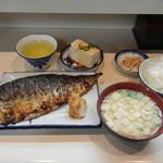 105056107 - 鯖の一枚焼定食¥900