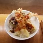 Washokusakeen - 海老天丼アップ。