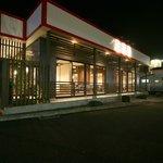 お食事の店ながとも - 夜もいい感じです。
