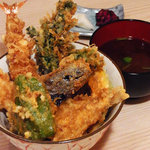 坊野 - ド定番の絶品天丼!