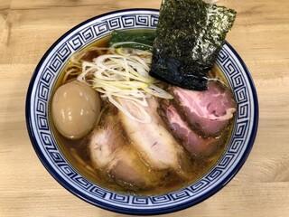 麺処 有彩 - 特製醤油らぁめん 中盛 900円