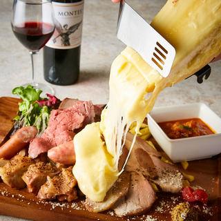 大人が満足できる絶品チーズ!濃厚ラクレットチーズ!