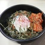 ジンギスカン 七福 - ビビンバ丼