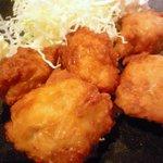 Kushikatsudengana - 鶏唐揚のアップ