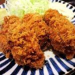 とんかつ 田 - とんかつ 田 西葛西店 牡蠣フライ
