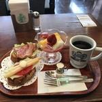 神戸にしむら珈琲店 - モーニング(フルーツ)