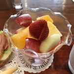 神戸にしむら珈琲店 - フルーツ盛り合わせ