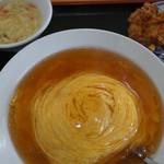 中華料理 喜多郎 - 天津飯セット