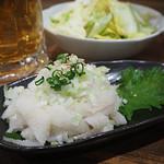 ホルモン本舗 昭和館 - 白センマイ刺し