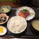 おにぎり屋 こころ - 料理写真:刺身定食500円