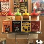 長田タンク筋 - いろいろソース
