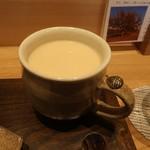 105097229 - 茎ほうじ茶ラテ(無糖