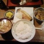 一休 - 焼き魚定食 550円