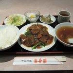 10510353 - ランチ(牛バラの醤油煮込み)