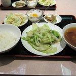 10510355 - ランチ(野菜のXO醤炒め)