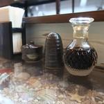 鎌倉 如菴 - 卓上調味料