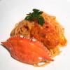 隠れ茶房 茶蔵カフェ - 料理写真:パスタランチ 渡り蟹の濃厚トマトクリームパスタ