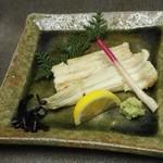 四季瀬戸の味 たにた - 天然鰻白焼き