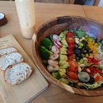 Green Cafe&Bar - コブサラダランチセット