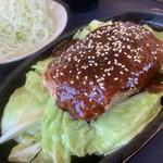 こだわりとんかつ 神楽 - ミンチ生姜焼き