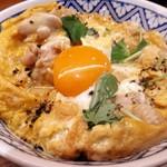京の鳥どころ 八起庵 - 京赤地鶏の親子丼
