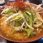 味噌ラーメン祐華 - 料理写真:ねぎ味噌¥750