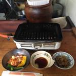 赤れんが - 料理写真:『ホルモン定食   800円なり』