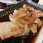 かつ菜 - 豚ロース生姜焼き