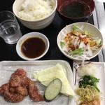 やきやき亭 - 『ハラミ定食   800円なり』