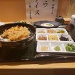くずし割烹 天ぷら竹の庵 - 天茶セット