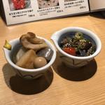 shinjukugyoentempurakushiyamamotoya - * お通し 500円 ×2 =1000円