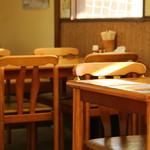 麺屋 雪国 - 4名様 テーブル ×2卓